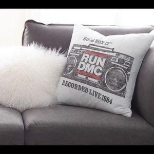 Pottery Barn Teen Run DMC Art Pillow Cover